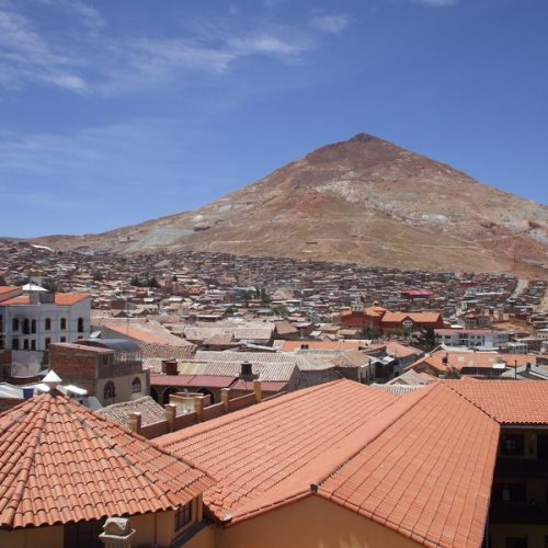 Ville minière de Potosi en Bolivie