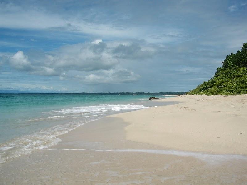 Une Plage de Bocas del Toro au Panama