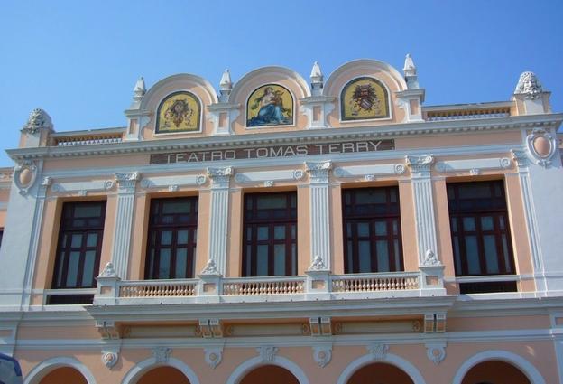 Cienfuegos, Cuba, Théâtre Tomas Terry