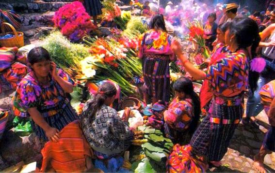 marche chichicastenango guatemala