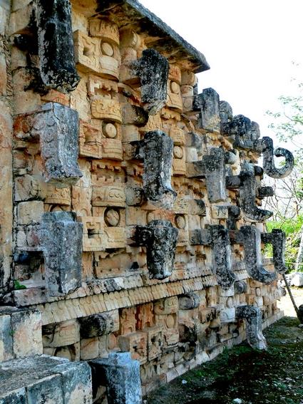 Kabah Yucatan Mexique
