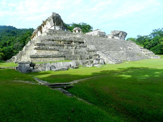 Ruines de Palenque Chiapas