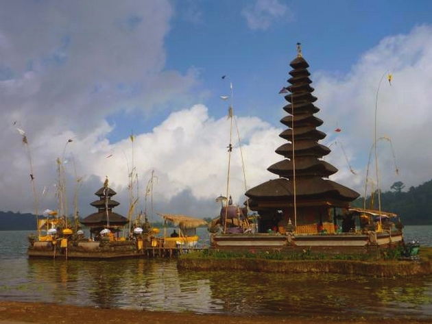 voyage indonesie, temple de bedugul, bali