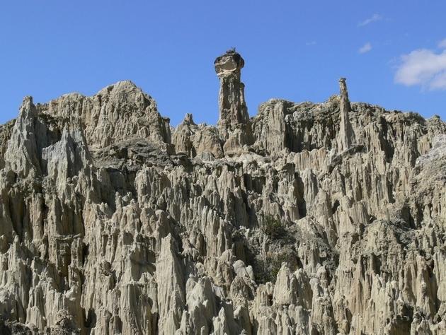 la vallée de la lune, à 10 km de la Paz, Bolivie