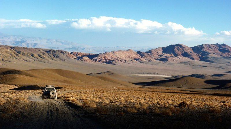 Dans les Andes en Argentine