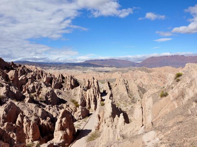 voyage argentine, quebrada de las flechas