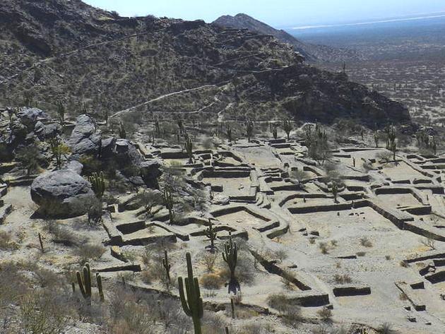 voyage argentine, ruines de quilmes