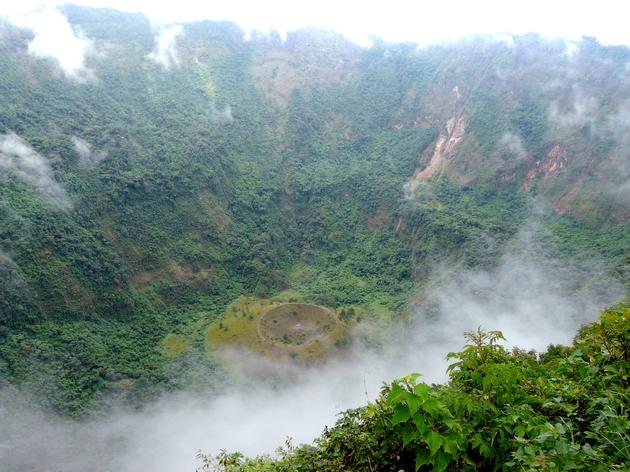 voyage salvador, volcan boqueron