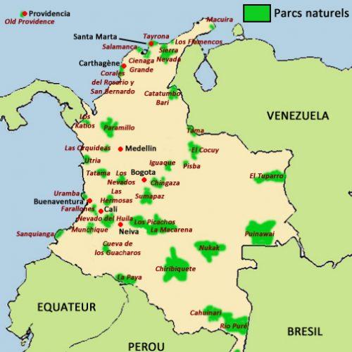 colombie-carte-parcs-naturels