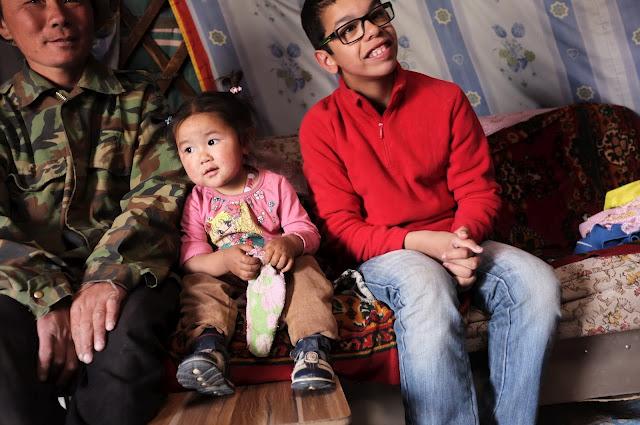 Tour du monde en train de Sacha, en mongolie
