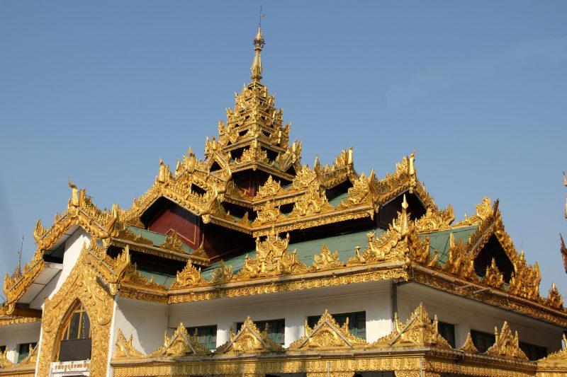 La Pagode Shwedagon à Yangon, en Birmanie