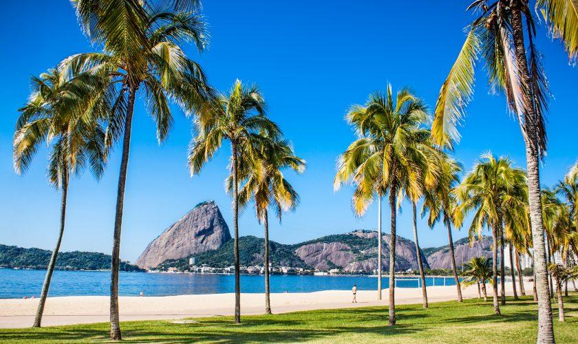 Botafogo beach in Rio de Janeiro, Brazil.