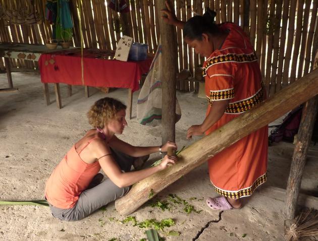 voyage panama, rencontre avec les ngobe