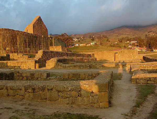site archéologique inca a Ingapirca
