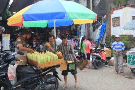 Marché à Ubud Bali
