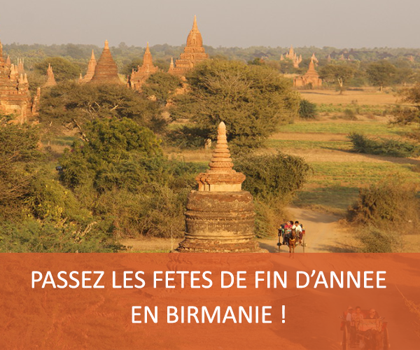 Voyage en Birmanie pour Noel