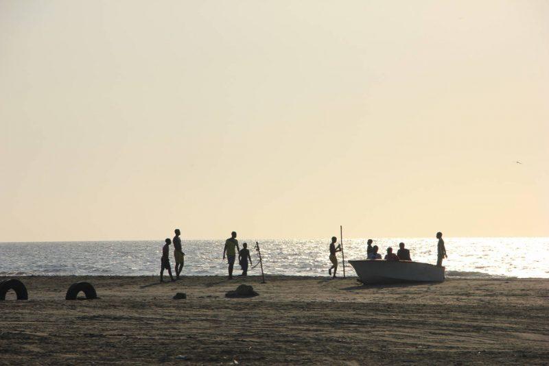 Les pêcheurs de la Boquilla.