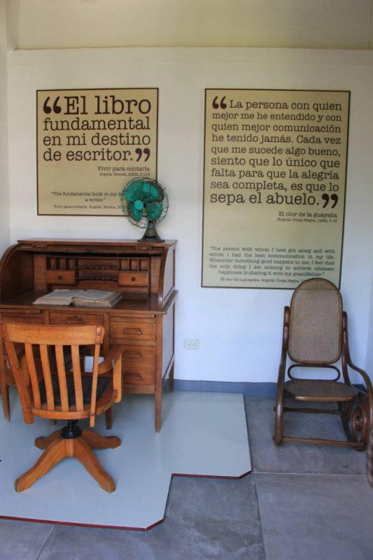 Le musée du célèbre auteur colombien Gabriel García Márquez.