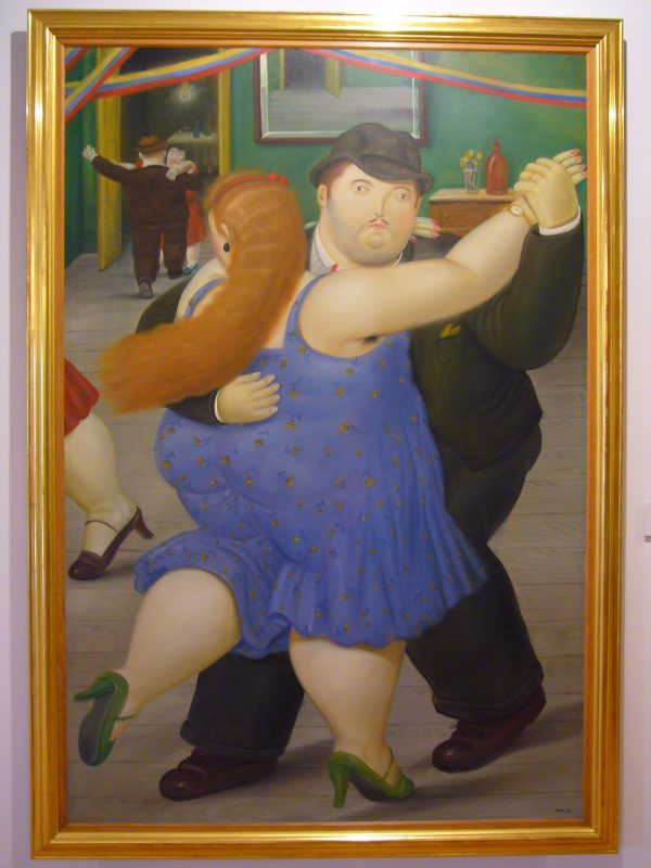 Une des nombreuses œuvres du célèbre peintre colombien Fernando Botero.