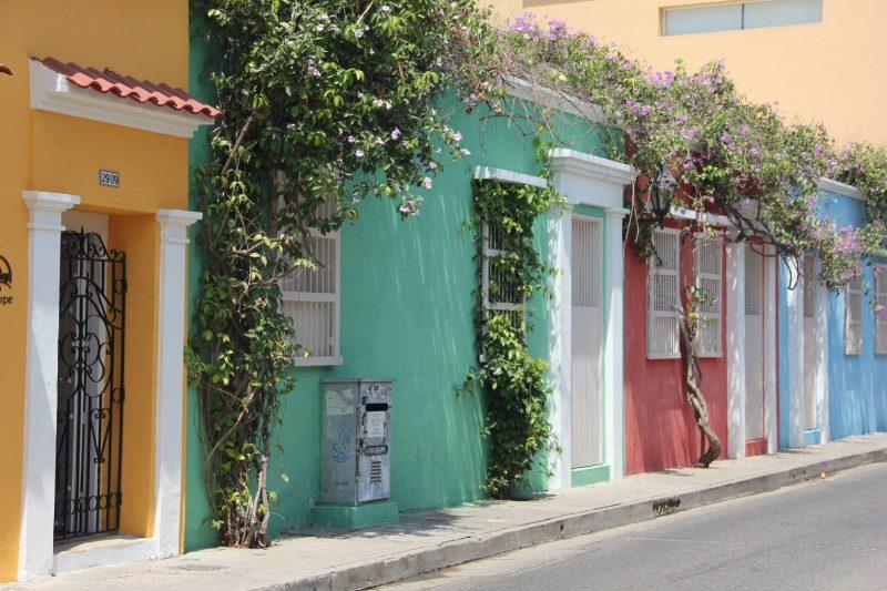 Les ruelles colorées du quartier Getsemani.