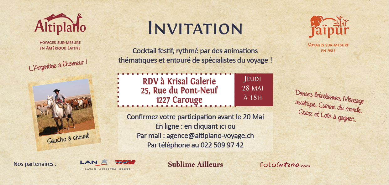 Invitation la fte du voyage le blog altiplano voyage invitation la fte du voyage stopboris Image collections