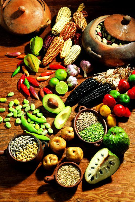 Produits typiques de Bolivie - crédit photo PromPeru