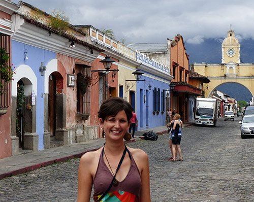 Claudine a Antigua