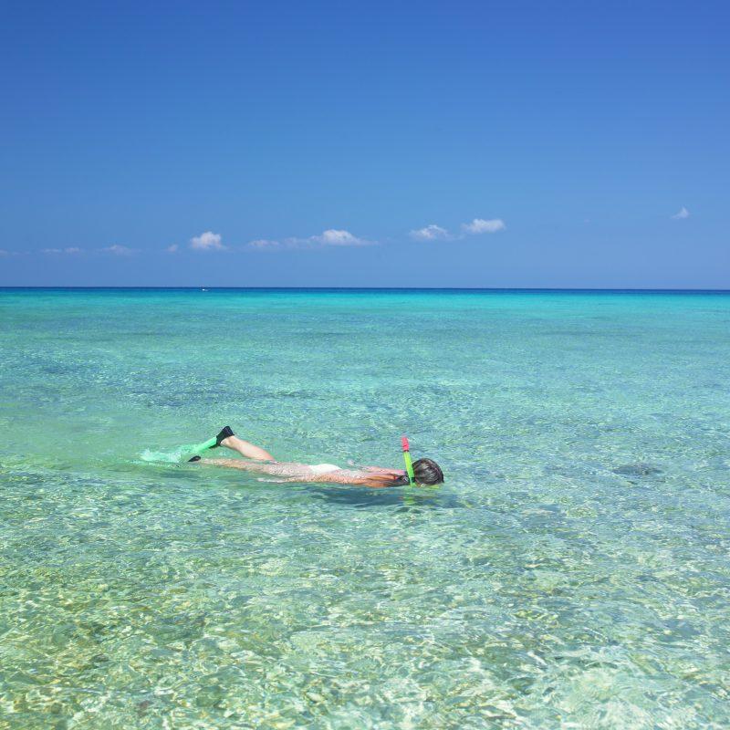 snorkeling Maria la Gorda