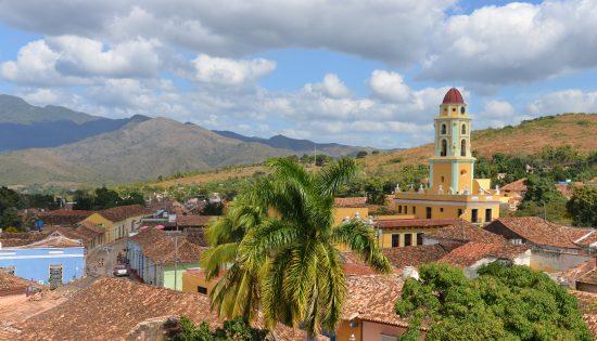 View over Trinidad in Cuba
