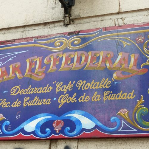 Cartel Filetado el federal