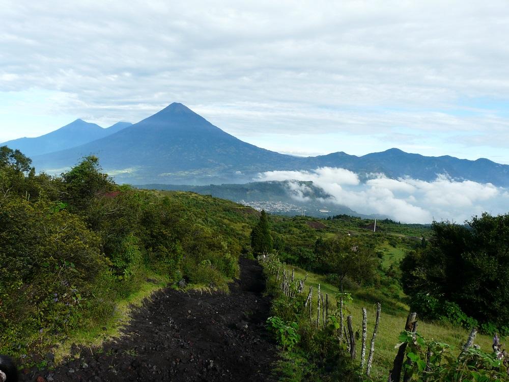 Randonnée sur le volcan Pacaya