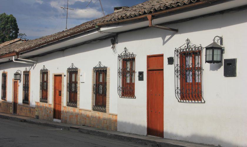 ruelle de POPAYAN altiplano voyage
