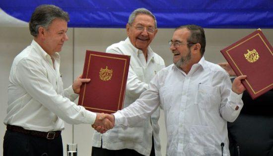 accords de paix colombie