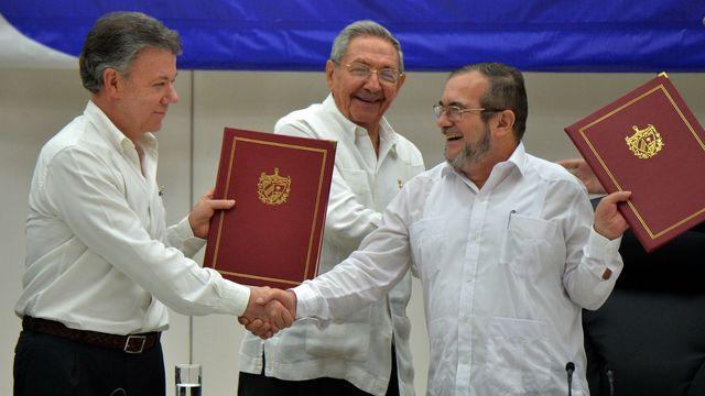 La paix en Colombie, après 50 ans de conflit!