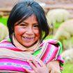 Petite fille Aymara en Bolivie