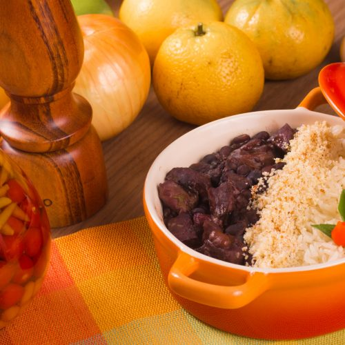 Traditional Brazilian Feijoada