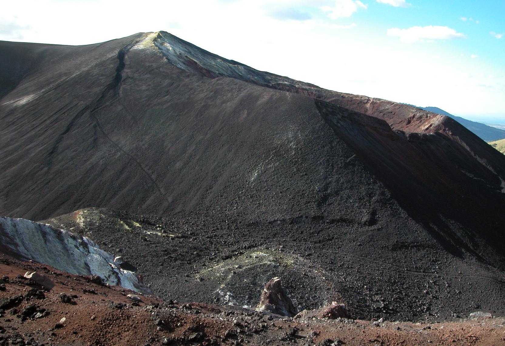 Le volcan Cerro Negro