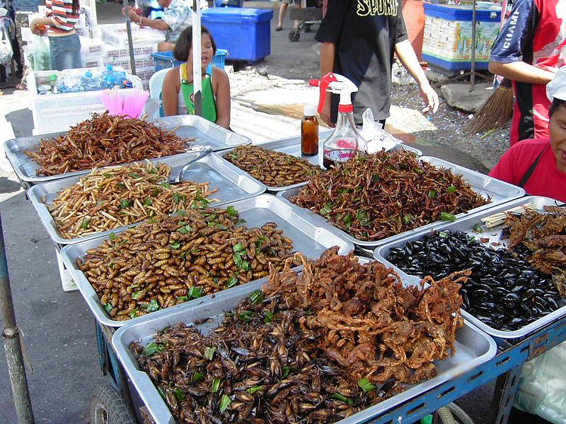 Street food thaïlandais