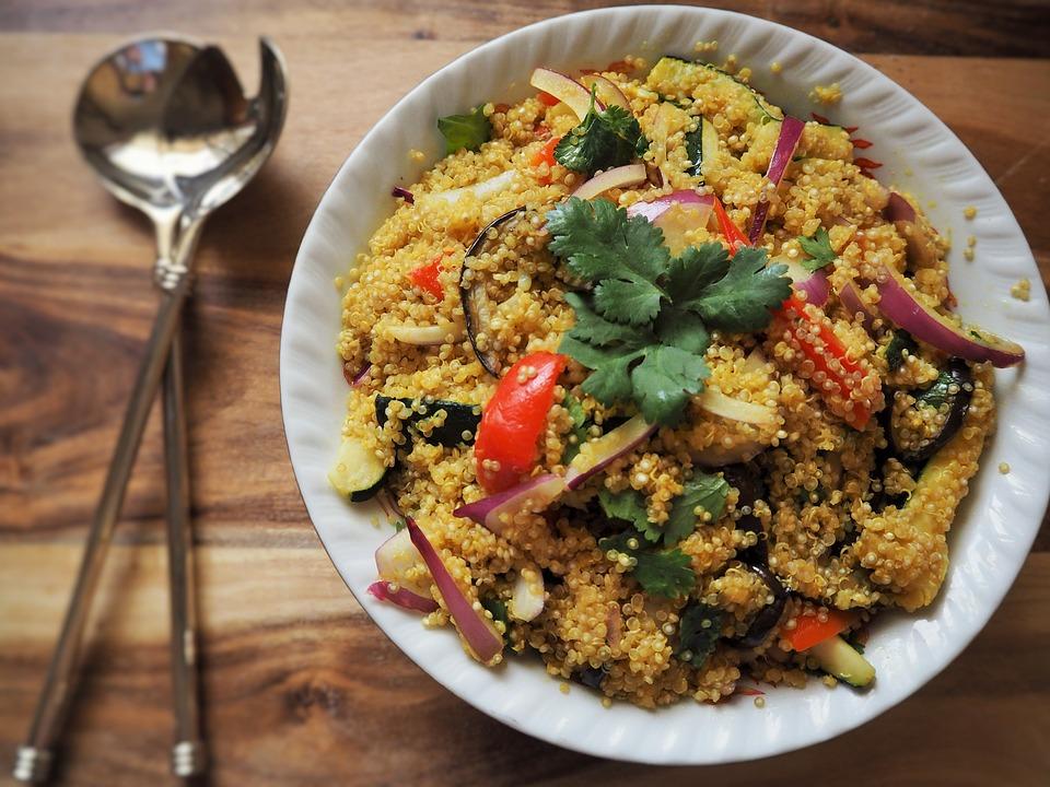 Une salade de Quinoa