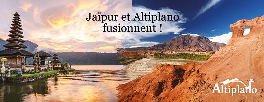 Altiplano et Jaïpur Voyage fusionnent