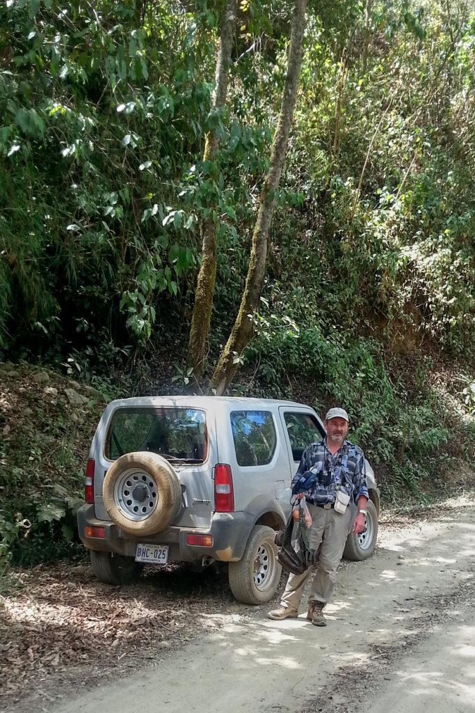 Roger, à Los Quetzales, Costa Rica