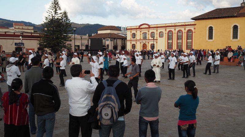 Cérémonie mexicaine chiapas authenticité