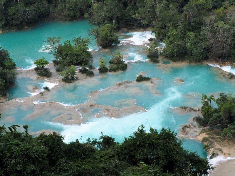 Cascade d'Agua Azul authenticité
