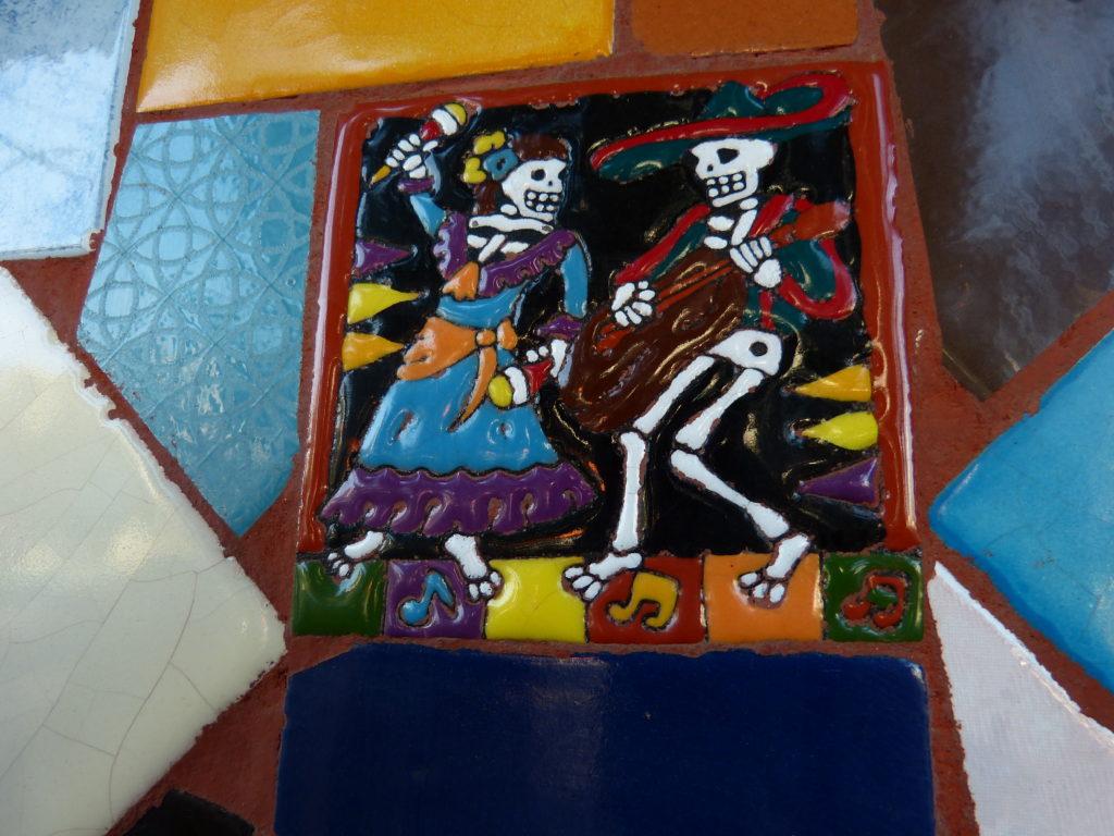 Décoration fête des morts mexique