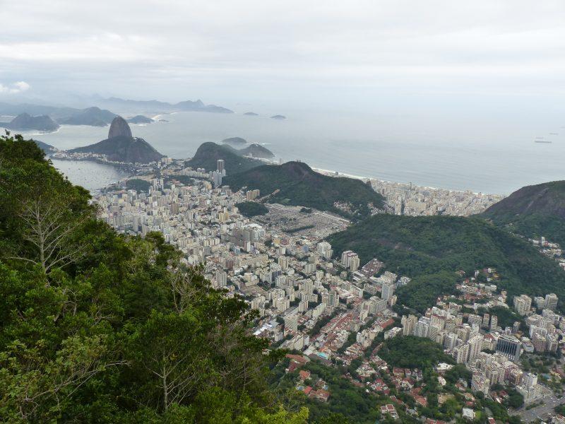 Rio sous la pluie