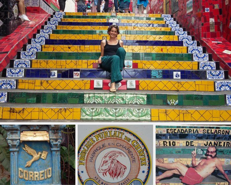 Quartier de Santa Teresa à Rio, Brésil