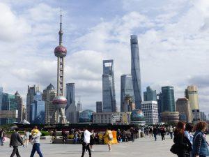Gratte-ciels de Shanghai