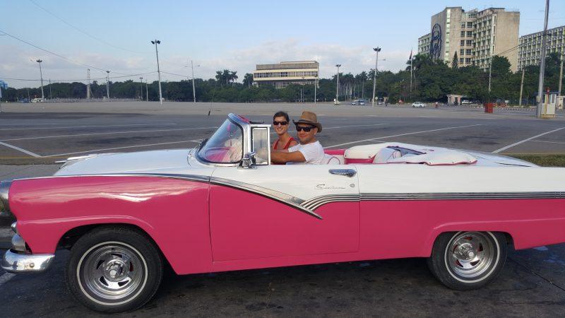 La Havane en voiture américaine - Cuba
