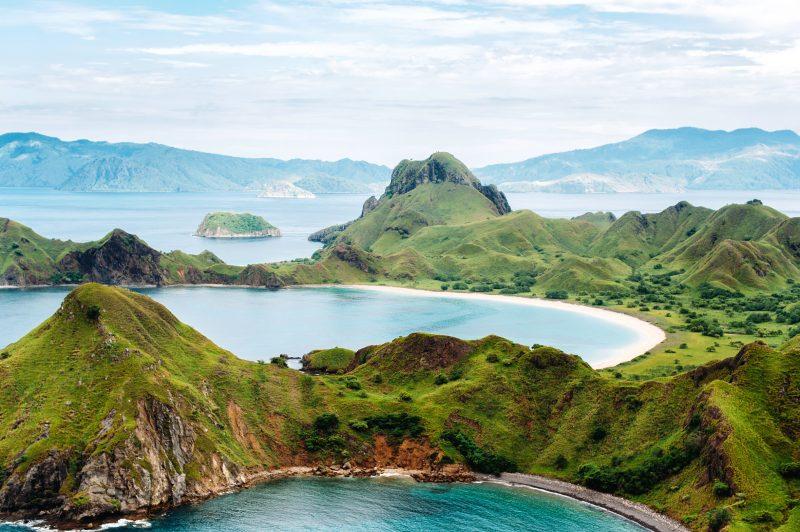 Padar Island, Komodo - Top 5 des plages d'Asie