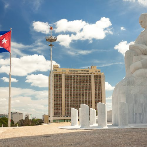 The Revolution Square in Havana